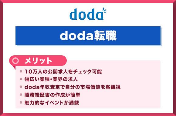 dodaのメリット